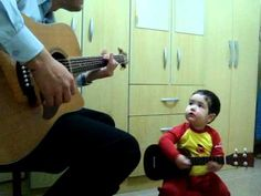 "Aww watch the video!! The Beatles ""Don't Let Me Down"" little kid and dad!"