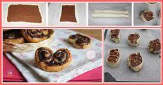 Le prussiane alla nutella una ricetta dolce facile e veloce da realizzare con tanta nutella perfetta per la colazione o la merenda.
