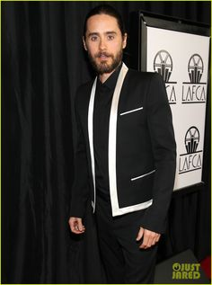 jared leto adele exarchopoulos lacfa awards 2014 13 Jared Leto goes for black and white at the 2014 Los Angeles Film Critics Association Awards held on Saturday evening (January 11) in Los Angeles.    The 42-year-old…