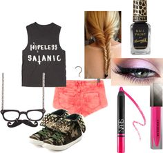 """""""Random Outfit 71"""" by bethalu ❤ liked on Polyvore"""