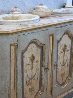 Master Bath-BOISERIE & C.: Stile Antico - Old Style