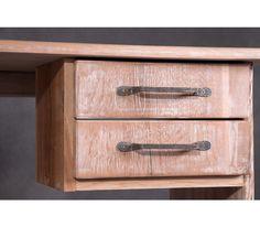 """""""Izland"""" rusztikus íróasztal részlet"""