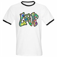 #Artsmith Inc #ApparelTops #Ringer #T-Shirt #Psychedelic #LOVE #with #Peace #Symbol #Heart #Sign #Neon #Colors Ringer T-Shirt Psychedelic LOVE with Peace Symbol Heart Sign Neon Colors http://www.snaproduct.com/product.aspx?PID=7489479