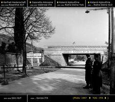 Confini amministrativi - Riigipiirid - Political borders - 国境 - 边界: 1947 IT-YU Itaalia-Jugoslaavia Italia-Iugoslavia Siena, Nova, Politics, Italia