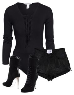 """""""Untitled #2386"""" by xirix ❤ liked on Polyvore featuring NLY Trend and Balmain"""