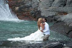 trash the dress photo  #weddings