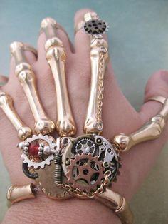 Cool steampunk hand