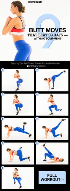 Best Butt Workouts - 9 Butt and Booty Exercises for Firmer Glutes