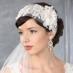 Crystal And Pearls Bridal Earrings $50