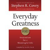 Everyday Greatness: Inspiration for a Meaningful Life (Paperback)By Stephen R. Covey