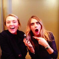 'Elle' ring on CaraDelevingne by #BonheurJewelry $120 http://www.bonheurjewelry.com/product/elle/ http://www.bonheurjewelry.com/product/daphine/