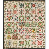 Album Quilt Date: 1856 Maker: Dorcas Godman Brashear Harvey, American, born 1825 Maker: Kate Harvey Makers: Ladies of Prince George's Co...