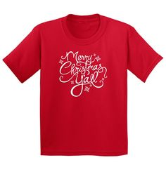 Merry Christmas Y'all - Youth Short Sleeve T-Shirt