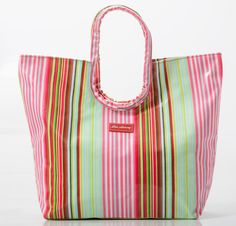 Perfect for the beach! Or use a a nappy bag.Everyday bag  Selma stripe www.gumbootsandcurls.com.au Lunch Box Cooler, Everyday Bag, Cosmetic Bag, Diaper Bag, Range, Wallet, Beach, Fashion, Moda