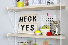 Acrylic Message Board DIY - A Beautiful Mess