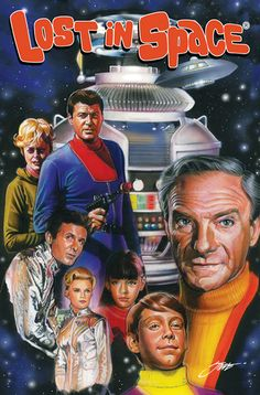 American Gothic Press confirmed its licensing of Irwin Allen's classic sci-fi series LOST IN SPACE for a six issue series based on two unproduced scripts. Fiction Movies, Sci Fi Movies, Science Fiction, Sci Fi Books, Space Tv Series, Space Tv Shows, Radio E Tv, Danger Will Robinson, Lost Episodes