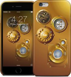 #Steampunk #Clock #iPhone #Cases & #Skins by #pASob   #Nuvango