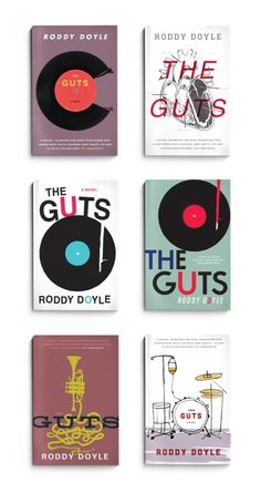The Guts design comps by The Heads of State