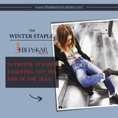 Say hello to winters with fabrics by  #BhaskarDenims
