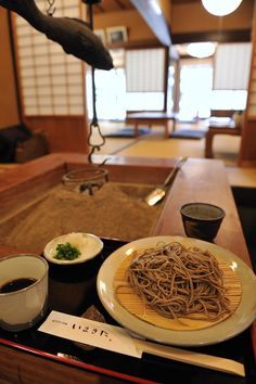 Photo: Japanese Thick Noodles made with Whole Buckwheat|Inaka Soba 田舎そば
