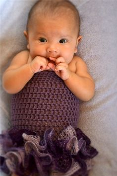 Crochet Tutu Dress Baby Handmade Photo Prop by CubbyCreations, $35.00