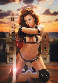 Warrior Woman... check it out: http://www.pinterest.com/meldarfranny/