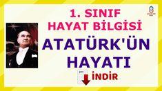 ATATÜRK'ÜN HAYATI 1. SINIF Education, School, Youtube, Onderwijs, Learning, Youtubers, Youtube Movies