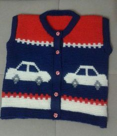Knitwear for years has lengthy been trendy. Knitwear is extraordinarily various. There are numerous sorts resembling for instance footwear, sweaters, … Toddler Sweater, Knit Baby Sweaters, Boys Sweaters, Baby Knitting Patterns, Stitch Patterns, Crochet Patterns, Baby Vest, Baby Cardigan, Kids Vest