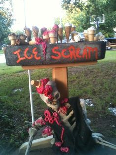 Ice Scream display