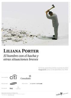 Liliana Porter. El hombre con el hacha y otras situaciones breves. En el Malba. | Rayo Verde