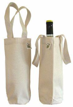 Eco-Bags Canvas Wine Bag (1 bottle)
