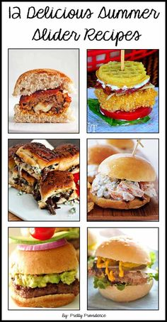 We are talking mini sandwiches! Does it get more fun than this? I submit it does not. Mini Sandwiches, Slider Recipes, Tasty, Yummy Food, Soup And Sandwich, Mets, Appetizer Recipes, Appetizers, Recipes Dinner