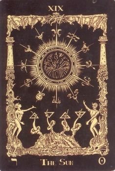 Book of Azathoth tarot the Sun