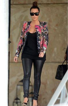 Kim Kardashian x Balmain. Love it.