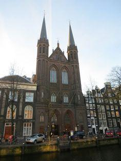 """Rooms-Katholieke Kerk """"De Krijtberg"""" in Amsterdam, Noord-Holland"""