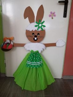 Cardboard Designing On Simple Pot Easter Arts And Crafts, Bunny Crafts, Flower Crafts, Diy And Crafts, Paper Crafts, Art Drawings For Kids, Art For Kids, Cardboard Design, Diy Y Manualidades