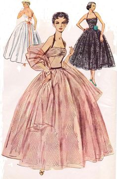 Hey, I found this really awesome Etsy listing at https://www.etsy.com/listing/176115872/1950s-vintage-simplicity-sewing-pattern