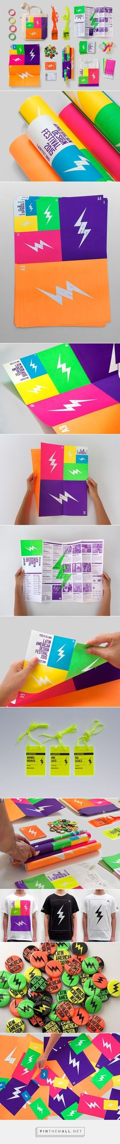 Latin American Design Festival Branding on Behance | Fivestar Branding – Design and Branding Agency & Inspiration Gallery