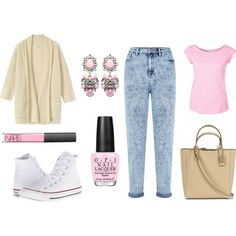 A fashion look from November 2014 featuring brown cardigan, pink shirt and acid wash jeans. Browse and shop related looks. Brown Cardigan, Acid Wash Jeans, 30th, Fashion Looks, Polyvore, Pink, Stuff To Buy, Shirts, Shopping
