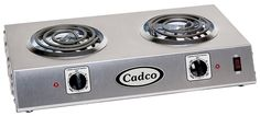 Cadco CDR-1T Countertop Double 120-Volt Hot Plate -- This is an Amazon Affiliate link. You can find out more details at the link of the image.