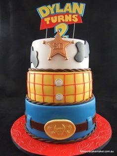 Woody Toy Story Birthday Cake