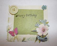 Handmade Birthday Card by Me