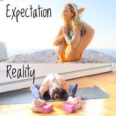 Yoga For Dummies Fitness Education Best Yoga For Beginners --Yoga Mat - Okiwilldo Yin Yoga, Yoga Bewegungen, Yoga Moves, Yoga Meditation, Yoga Exercises, Fitness Workouts, Yoga Fitness, Cardio Workouts, Ashtanga Yoga