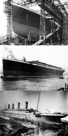 File:RMS Titanic construction-3-phases.jpg
