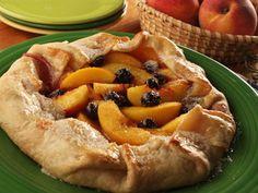 Peachy Berry Tart | mrfood.com