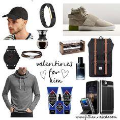 Valentine's Gift Guide for Him. www.jillianrosado.com IG @jillianrosado