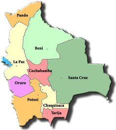 Map Of Bolivia La Paz Bolivia South America Maps Boliva Map - Bolivia map