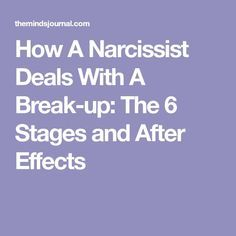 188 Best Breaking up with a Narcissist images in 2019