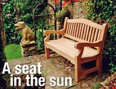 Garden Bench Plans - Outdoor Furniture Plans and Projects   WoodArchivist.com