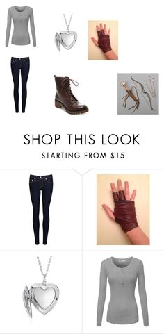 """""""April Greystoke Outfit 29"""" by girlwhosparkles ❤ liked on Polyvore featuring rag & bone/JEAN, Blue Nile and Madden Girl"""